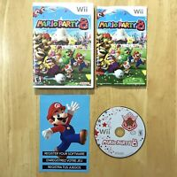 Mario Party 8 Nintendo Wii Complete CIB W/ Manual Insert Tested