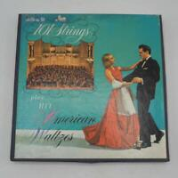 Vtg 101 Strings Hit American Waltzes Reel To Reel Tape 3 3/4