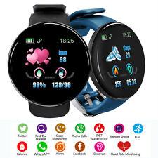 Умные часы пульсометр Спорт Фитнес трекер для Iphone Android Samsung