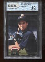 Derek Jeter RC 1993 Stadium Club Murphy #117 Yankees HOF Rookie GEM MINT 10