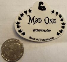 Disney Alice in Wonderland - Mad One - Nametag pin