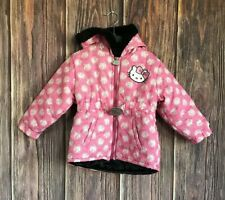 Hello Kitty Hooded Coat Toddler Size 2T