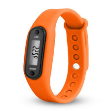 Run Step Watch Bracelet Pedometer Calorie Counter Digital LCD Walking Distance