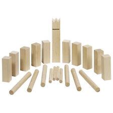 Wikingerspiel Mini-KUBB, mit Baumwollbeutel,  GOKI 56745