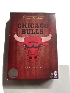NBA Dynasty Series: Chicago Bulls the 1990's DVD 6 Disc Set - Region 4 - RARE