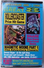 VINTAGE THE GREAT 8 MAY 1992 ISSUE 18 FOR SPECTRUM 48K/128K