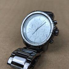 Diesel DZ-5339 Chronograph Gunmetal Stainless Steel Crystal Bezel Watch Unisex