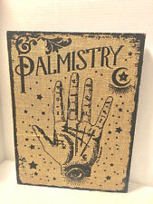 Palmistry Palm Reading Fortune Wall Frame Decor