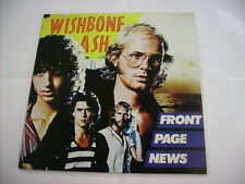 WISHBONE ASH - FRONT PAGE NEWS - LP VINYL NEW UNPLAYED 1977 ITALY