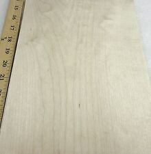 """Maple wood veneer 8"""" x 12"""" raw with no backing 1/42"""" thickness """"A"""" grade quality"""