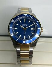 Bulova 98B334 Mens Marine Star Two Tone Watch