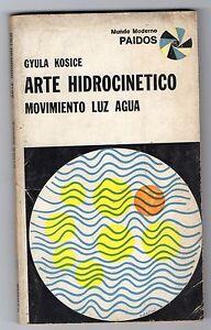 MADI ART 1968 Gyula Kosice original autograph signed book Arte Hidrocinetico