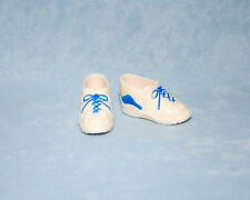 CROSS TRAINER! Cool White & Blue KEN Athletic Faux Lace Up Shoes BARBIE