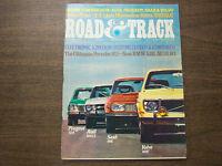 Road & Track Magazine The Ultimate Porsche 911 November 1972 041912R