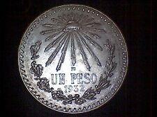 Mexiko Un Peso 1932 ###TOP###