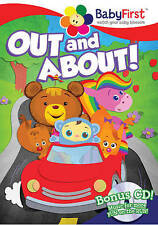 Babyfirst: Out And About / Entertainment On The NEW DVD FREE SHIPPING!!