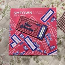 SMTOWN SMT LIVE 2019 IN TOKYO Japan LIVE Girls' Generation SNSD Pin Badges