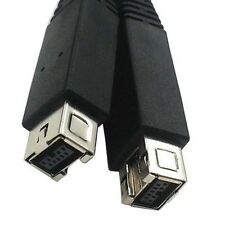 Firewire 9 pin to 9 pin Cable IEEE 1394 FireWire 800 400 iLink Cord