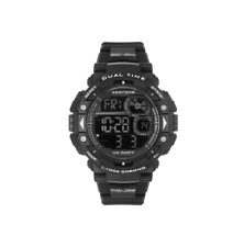 Armitron Sport Men's Unisex Analog-Digital Chronograph Watch Black