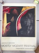 Judith Murray Lincoln Center Poster - printed by List Art Posters