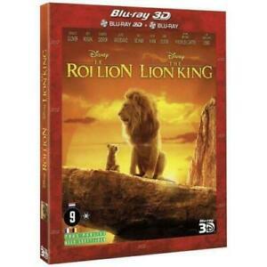 le roi lion 3D + blu-ray 2 D (neuf sous blister)