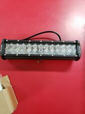 AUTOFEEL Quad-Row 12''  LED Light Bar Spot Flood US