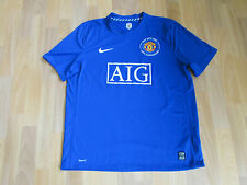 Nike MANCHESTER United 1968 Anniversary ROONEY 10 FOOTBALL Shirt XL NEVER WORN