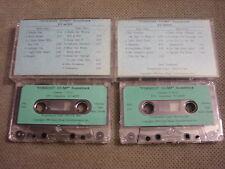 Rare Promo Forrest Gump 2x Cassette Tape soundtrack Doors Bob Dylan Elvis Byrds