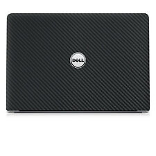 Black Carbon.skin decal wrap skin case for Dell Inspiron 15 5558 5559 15.6""