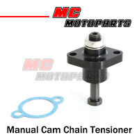 MC MOTOPARTS CNC Adjustable HP Manual Cam Chain Tensioner For DR 650 S//SE 1990-2009 2005 2006 2007 2008 Black