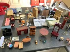 MASSIVE LOT OF MINITURE DOLLS HOUSE FURNITURE AND ACCESORIES