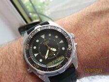 Vintage Casio Japan Quartz Chronograph AMW-320C Analog Digital Watch Diver Sport