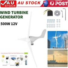 500w DC 12v Wind Turbine Generator Kit 3 Blade Wind/solar Controller
