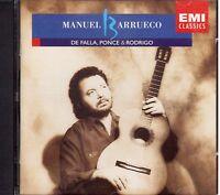 Manuel Barrueco Plays De Falla, Ponce, Rodrigo - CD