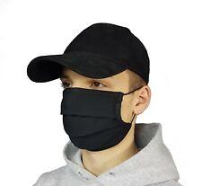 Maska maseczka ochronna Streetwear smog pył itp czarna