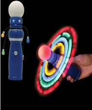 "LITE UP 8"" GALAXY SPINNER NOVELTY GIMMICK TRICK TOY KIDS GAME PARTY"