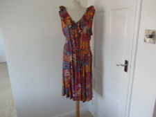 LAUREN RALPH LAUREN FEDELLA ORANGE PATTERNED DRESS SIZE XL BNWT