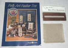 Folk Art Feather Tree Mill Hill Bell Pull Chart & more NEW