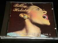 Billie Holiday - Immortal Lady Vol 1 - CD Album - 1993 Charly - 20 Greatest Hits