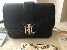RALPH LAUREN Black Carrington beckett Clutch Cross-Body Bag ~ NWT: 148.00