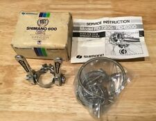 Vintage Shimano 600 EX Arabesque Clamp on Shift Levers NEW In Original Pa