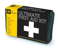AA Ultimate First Aid Kit inc 39 Items Per Kit - Ideal to store in Vehicle