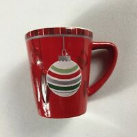 GUND Holiday Mug Small Drink Red Coffee Tea 3D Hanging Ornaments Design Xmas Cup