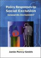 Policy Responses to Social Exclusion (Paperback or Softback)