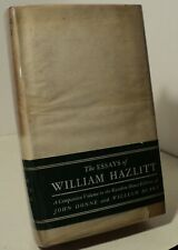 The Essays of William Hazlitt - Companion to Donne & Blake  - 1930  - pwe11