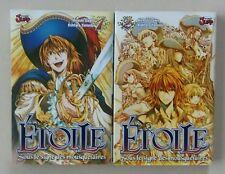 Lot de 2 mangas Intégrale Étoile Sous le Signe des Mousquetaires Tomes 1 et 2