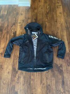 Simms ProDry Jacket. Black. Size Large.