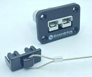 ENERDRIVE 50 Amp Anderson Plug flush Mount countersunk + DUST CAP + 50Amp Plug