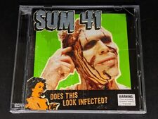 Sum 41 - Does This Look Infected? (2002, CD + DVD)
