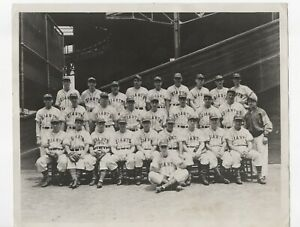 1940 Team-Issued NY Giants Baseball 8x10 Team Photo with Original Shipping Tube